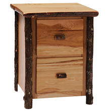 Two Drawer File Cabinet - Cognac