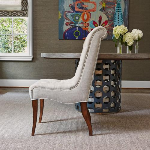 Buttoned Up Dining Chair