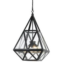 60W X 4 Townsendglass Chandelier (Edison Bulbs Not included)