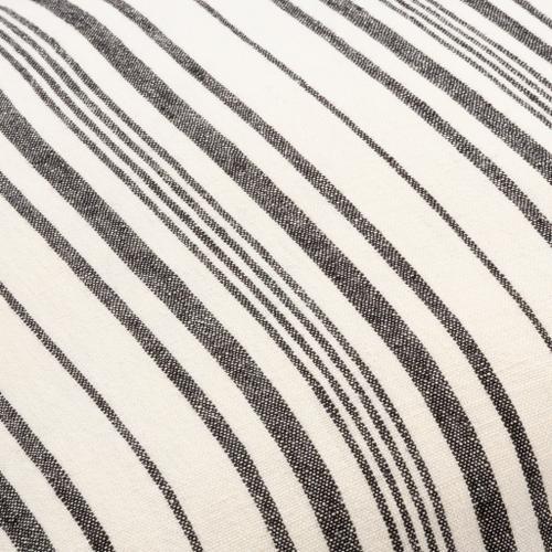 "Surya - Linen Stripe Buttoned LNB-002 18""H x 18""W"