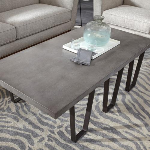 Concrete Top Coffee Table