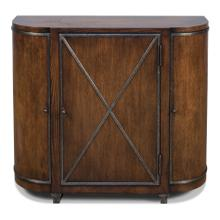 See Details - Asia Console, Burnt Brown Oak