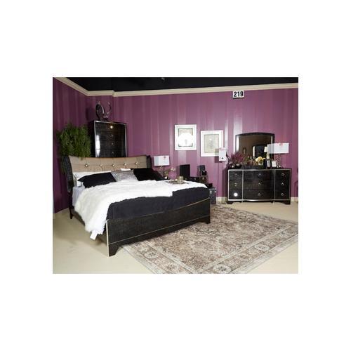 Ashley Furniture - Ashley Furniture B257 Amrothi - Black Bedroom set Houston Texas USA.