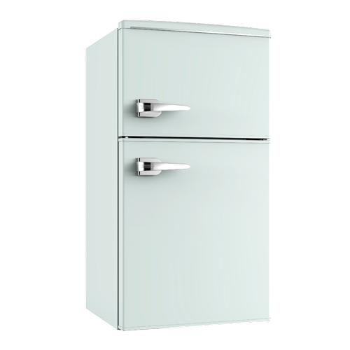 3.0 CF RETRO STYLE Two Door Refrigerator