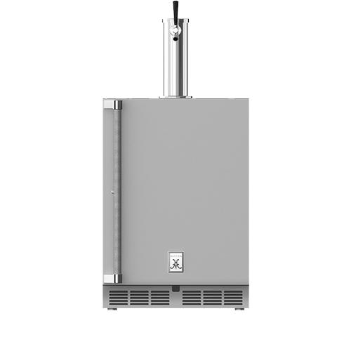 """Hestan - 24"""" Hestan Outdoor Single Faucet Beer Dispenser - GFDS Series - Prince"""