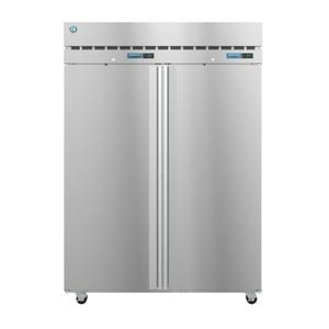 HoshizakiDT2A-FS, Refrigerator and Freezer, Two Section Dual Temp Upright, Full Stainless Doors with Lock