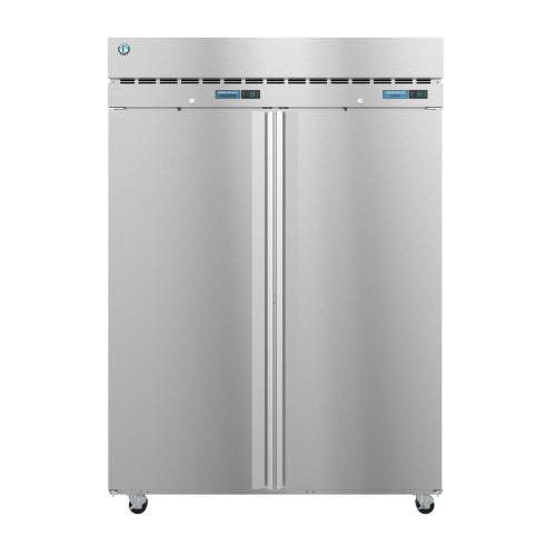 Product Image - DT2A-FS, Refrigerator and Freezer, Two Section Dual Temp Upright, Full Stainless Doors with Lock