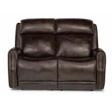 See Details - Stanley Power Reclining Loveseat with Power Headrests