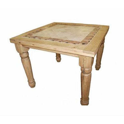 4' Counter Height Marble Table