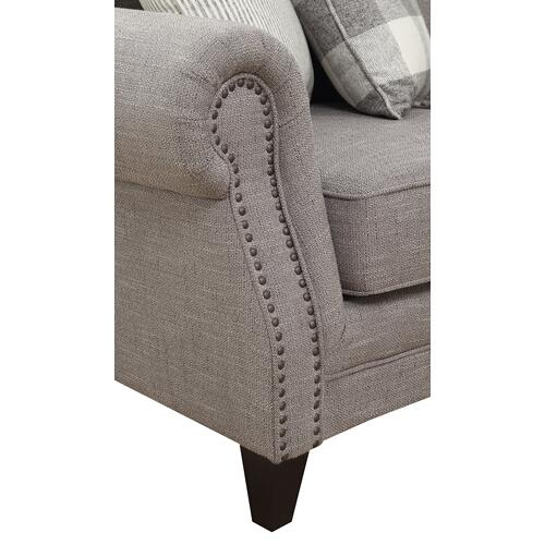 Emerald Home Willow Creek Sectional Sofa Pebble Brown U4120-12-13