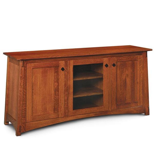 See Details - McCoy 3-Door TV Stand