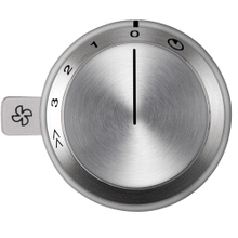 View Product - Vario control knob for use with VL 414 downdraft AA 490 710 Stainless Steel