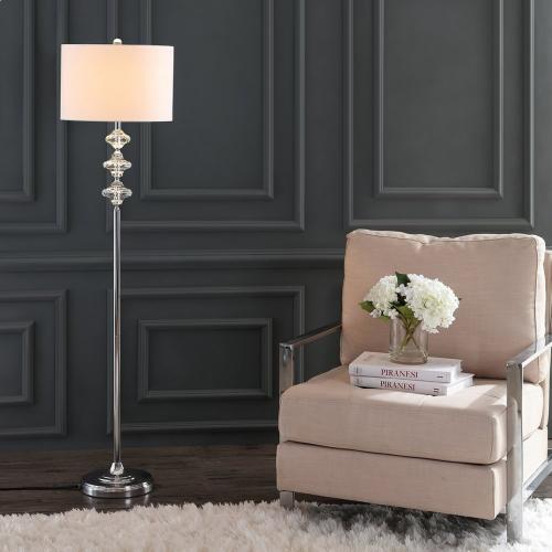Lottie Floor Lamp - Chrome