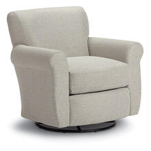 GEMILY Swivel Barrel Chair