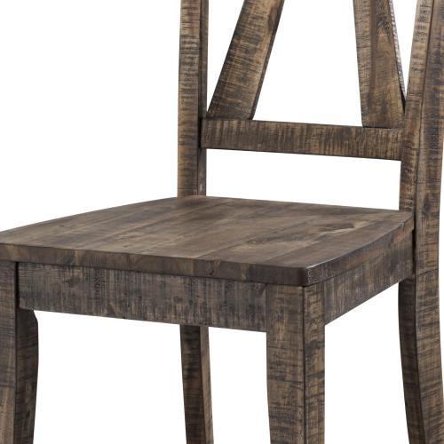 Finn Wooden Side Chair Set