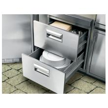 See Details - GE Monogram® Stainless Steel Double Drawers