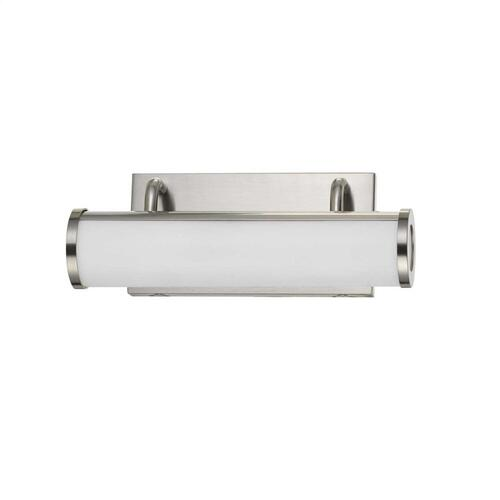 integrated LED 13W, 940 Lumen, 80 CRI Dimmable Vanity Light With Acrylic Diffuser