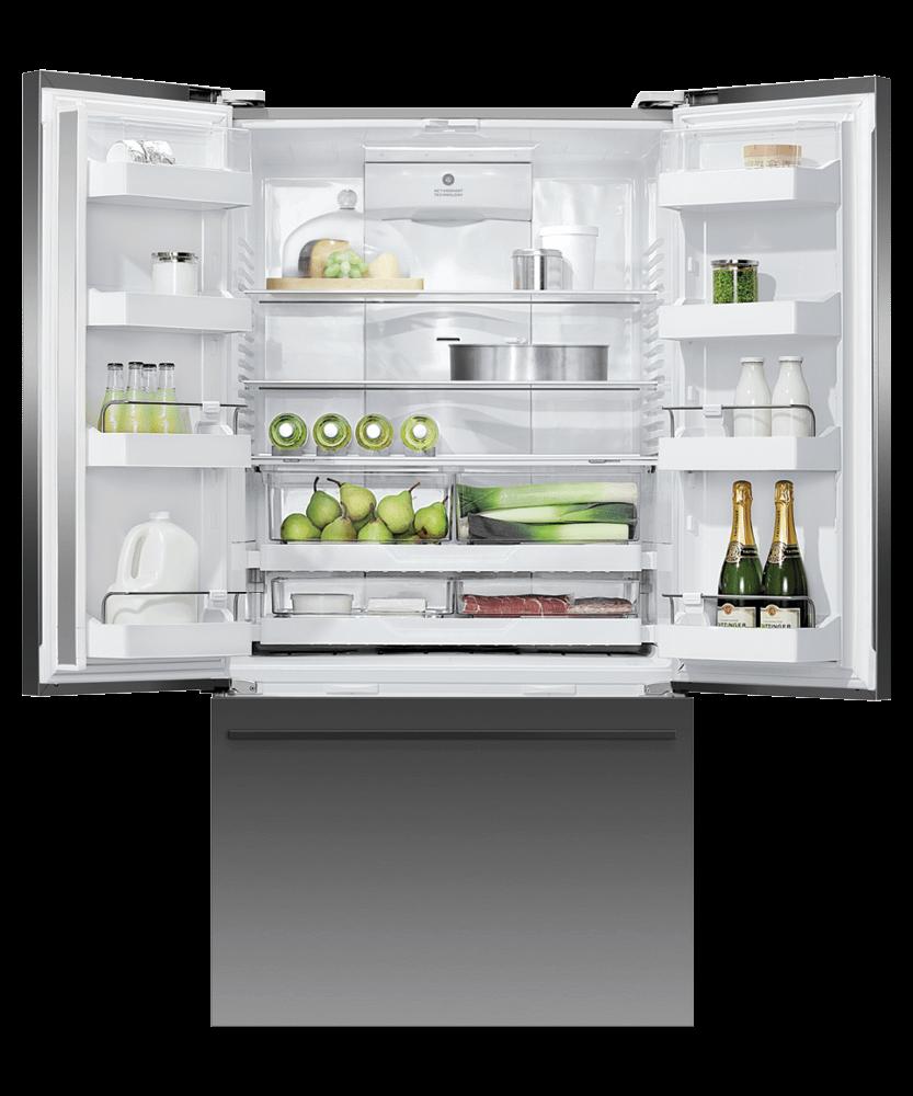 """Freestanding French Door Refrigerator Freezer, 36"""", 20.1 cu ft, Ice & Water Photo #3"""