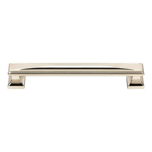 Wadsworth Pull 6 5/16 Inch (c-c) - Polished Nickel