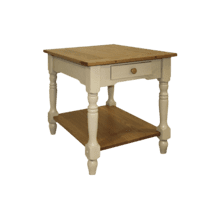 See Details - Custom Americana Large End Table