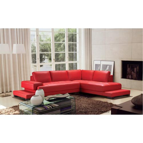Divani Casa Moscow - Modern Leather Sectional Sofa