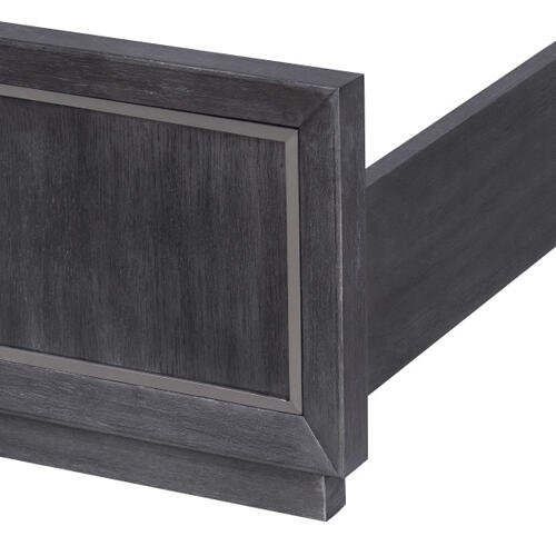 Echo 6/6 & King Footboard & Slats in Charcoal