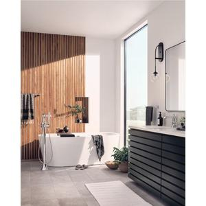 """Flara chrome 24"""" towel bar"""