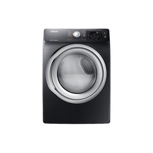 Samsung7.5 cu. ft. Electric Dryer with Steam in Black Stainless Steel