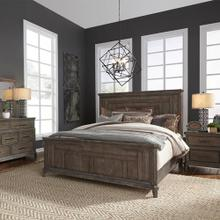 Queen Panel Bed, Dresser & Mirror, Night Stand