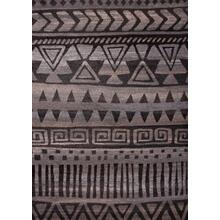 "Power Loomed Polypropylene Toile Design Tara 304 Area Rug by Rug Factory Plus - 5'4"" x 7'5"""