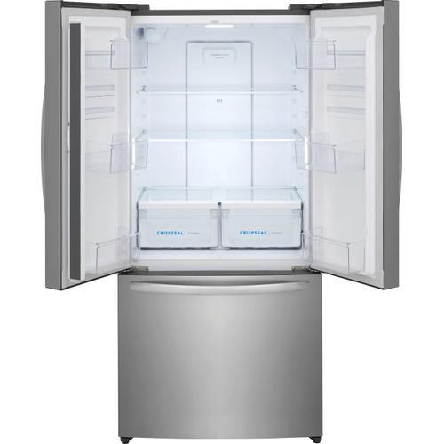 Frigidaire - Frigidaire 17.6 Cu. Ft. Counter-Depth French Door Refrigerator