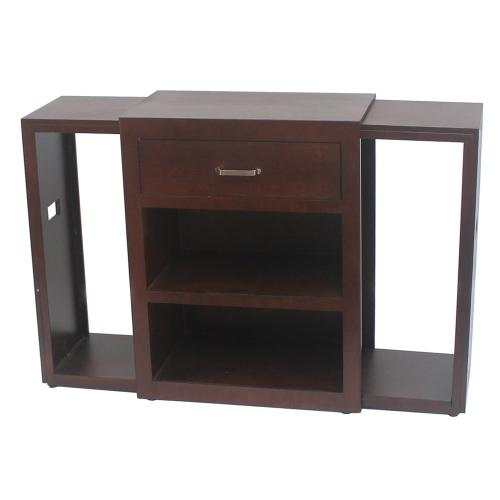 Side Table w/ 2 tray tables