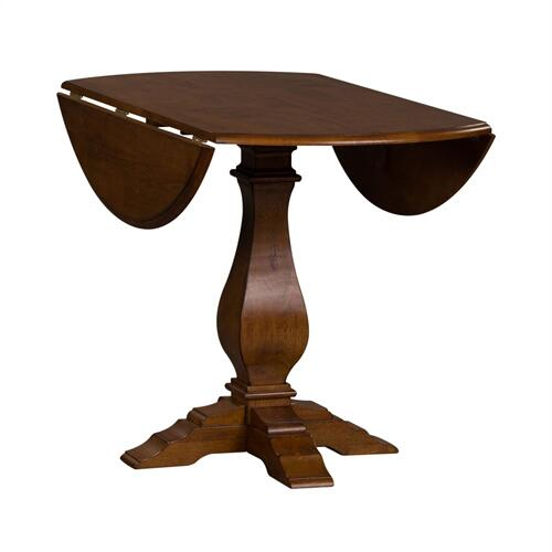 Drop Leaf Pedestal Table Top