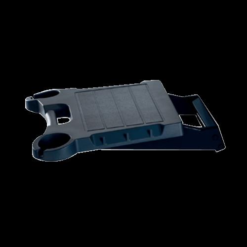 BLACK SOLID SURFACE SIDE SHELF SKFPB2