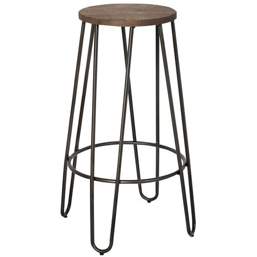 Revo 26'' Counter Stool, set of 4 in Black