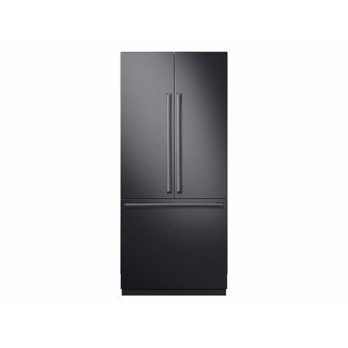 "Product Image - Fingerprint Resistant Black Matte Stainless Accessory Kit for 36"" Built-in Refrigerator"