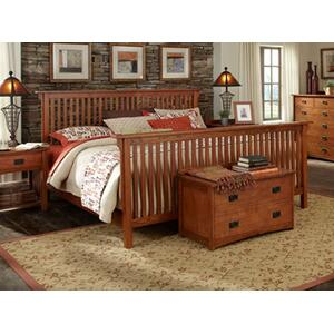 A America - E King Slat Bed