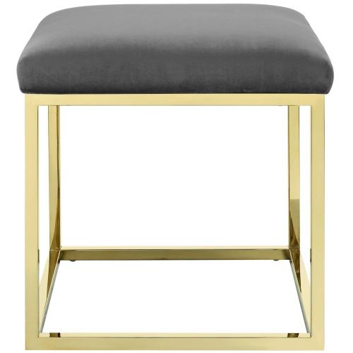 Anticipate Ottoman in Gold Gray