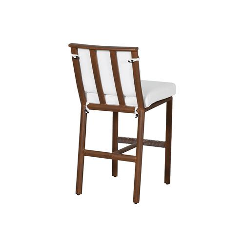 Castelle - Berkeley Cushioned Armless Counter Stool