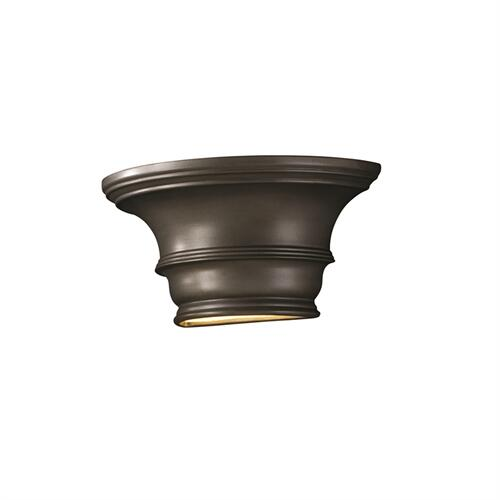 Curved Concave w/ Glass Shelf