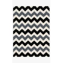 View Product - LL-03 Black / Charcoal Rug