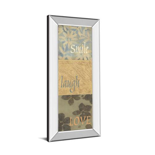 """Uplift Il"" By Vision Studio Mirror Framed Print Wall Art"