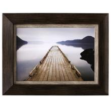 Framed print under glass of Off Orcas Island
