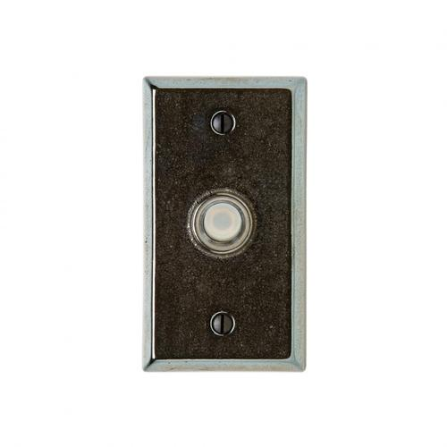 Rectangular Doorbell Button Silicon Bronze Dark