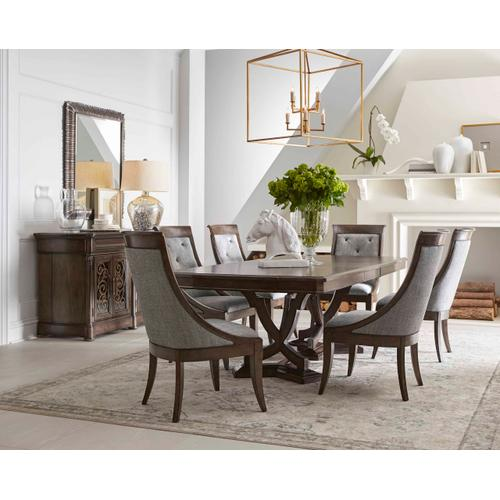 Landmark Double Pedestal Dining Table