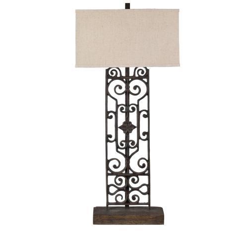Crestview Collections - Renaissance Table Lamp