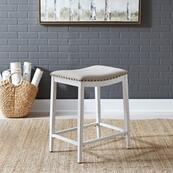 Backless Uph Counter Chair- Vintage Cream