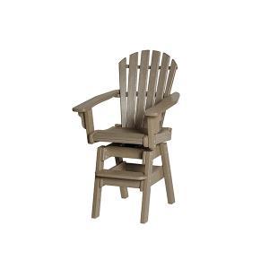 Coastal Swivel Bar Chair