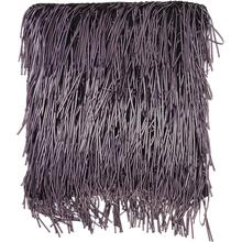 "Shag Dc235 Purple 18"" X 18"" Throw Pillow"