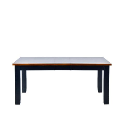 """Lawton 60-84 inch Dining Table w/ Two 12"""" Leaves"""